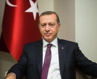 Le Président turc Recep Tayyip Erdogan images stock
