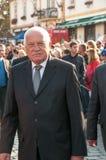 Le Président Vaclav Klaus, pèlerinage national, vieux Boleslav, 28 9 2017 Image libre de droits