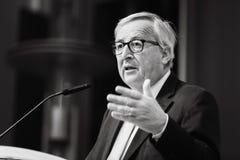 Le Pr?sident Jean-Claude Juncker de Commission europ?enne images stock