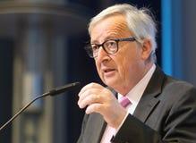 Le Pr?sident Jean-Claude Juncker de Commission europ?enne image stock