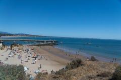 Le Praia font Camilo à Lagos, Portugal Photo stock