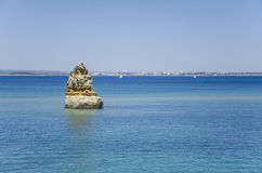 Le Praia font Camilo - Lagos dans Algarve, Portugal Photo stock