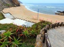 Le Praia font Guincho Santa Cruz, Portugal Photographie stock libre de droits