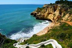 Le Praia font le carvoerio de paraiso, images stock