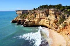 Le Praia font le carvoerio de paraiso, Photos stock