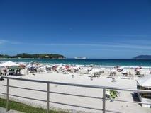 Le Praia font le forte, Rio de Janeiro Photo stock