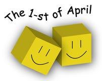 Le premier avril Photographie stock libre de droits