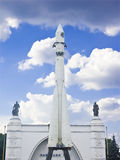 Le premier vaisseau spatial russe Photo libre de droits