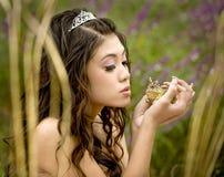 Le prince de grenouille Photo stock