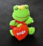 Le prince de grenouille a besoin d'amour Photo stock