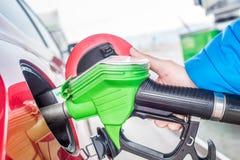Le prix du gaz est très bas Photos stock
