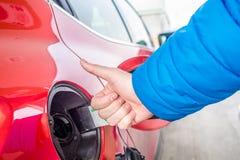 Le prix du gaz est très bas Images libres de droits