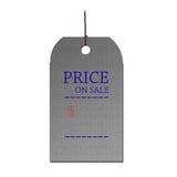 Le prix en vente Image stock