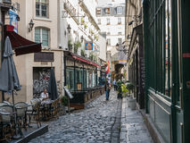 Le Procope en París, Francia Imagen de archivo libre de regalías