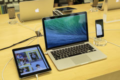 Le produit d'Apple Image stock