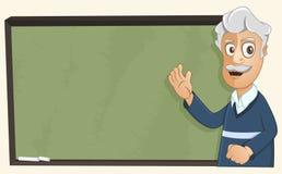 Le professeur donne une leçon Image libre de droits