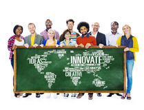 Le progrès d'idées de créativité d'inspiration d'innovation innovent Concep image stock