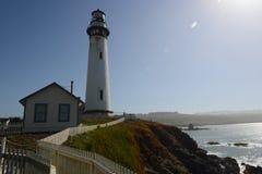 Le propriétaire du phare Images libres de droits