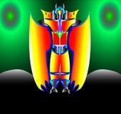 Le protecteur d'astronaute de robot Images stock