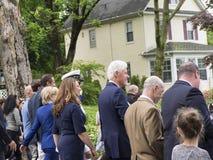 Le Président Bill Clinton des USA Image libre de droits