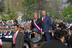 Le Président Michelle Bachelet Photos libres de droits