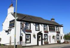Le Pub Galgate Lancashire Angleterre de village de charrue Photo stock