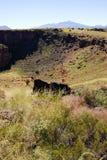 Le pueblo de citadelle, site antique de Natif américain Photo stock