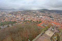 Le Puy en Velay from above, France Stock Photo