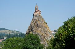 Le Puy en Velay, France. Stock Photography