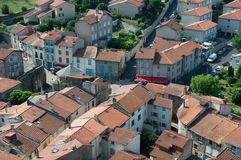 Le Puy en Velay, France. Stock Image
