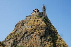 Le Puy Engelse Velay, Frankrijk. Royalty-vrije Stock Fotografie
