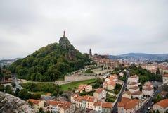 Le Puy Frankrike Arkivfoton