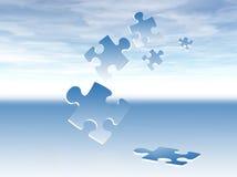 Le puzzle rapièce le fond Photographie stock libre de droits