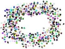 Le puzzle rapièce le fond Photo libre de droits