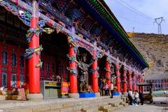 Le Qinghai Xining : saint de neuf jours de grand kunlun - montagne de MaLong Phoenix Photo libre de droits