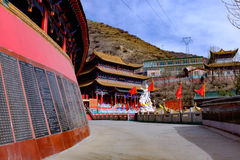Le Qinghai Xining : saint de neuf jours de grand kunlun - montagne de MaLong Phoenix Photographie stock libre de droits