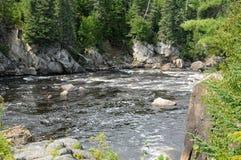 Le Québec, honoraires de La de Parc de la Caverne Trou De dans Desbiens Image stock
