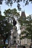 Le Québec, le 28 juin : Placez le ` Armes Monument de la Foi de D de vieux Québec dans le Canada image stock