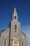 Le Québec, l'église historique de Bonne Aventure Photo stock
