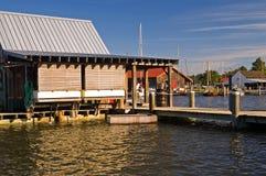 Le quai du pêcheur Photos libres de droits