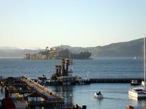 Le quai Forbes Island du pêcheur de San Francisco Bay Pier 39 Photo libre de droits