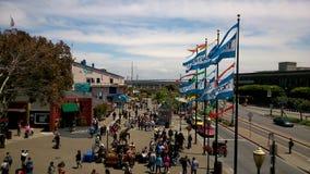 Le quai @ San Francisco du pêcheur Photo libre de droits