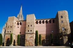 Le quart gothique de Barcelon Photos libres de droits