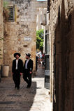 Le quart juif à Jérusalem Israël Photo libre de droits