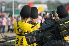 Le quatre-vingt-deuxième anniversaire de H.M. le roi de la Thaïlande Photo stock