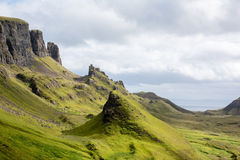 Le Quiraing, île de Skye Scotland Photos stock
