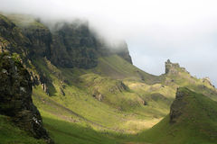 Le Quiraing Images stock
