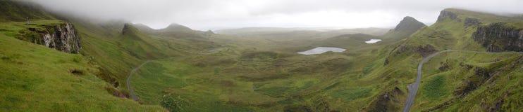 Le Quirang, île de Skye Images libres de droits