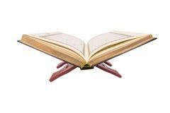 Le Quran saint sur le support de livre IV Photographie stock