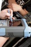 Le réflectomètre Photos libres de droits